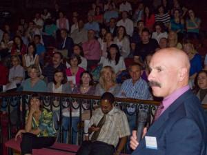 Richard Spritz en la Segunda Sesión Informativa para pacientes de Vitíligo 06